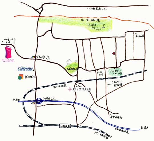 mahounofue map